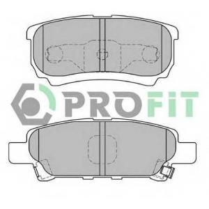 PROFIT 5000-1839 Колодки гальмівні дискові