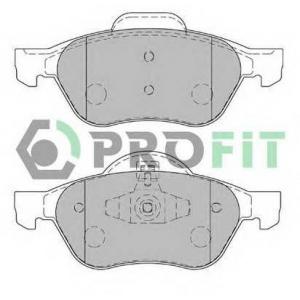 PROFIT 5000-1866 Колодки гальмівні дискові