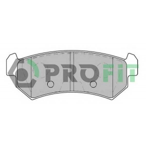 PROFIT 5000-1889 Колодки гальмівні дискові