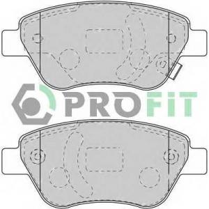PROFIT 5000-1920 Колодки гальмівні дискові