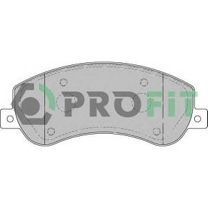 PROFIT 5000-1928 Колодки гальмівні дискові