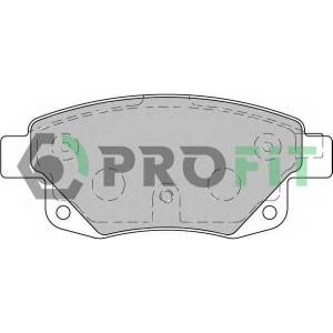 PROFIT 5000-1930 Колодки гальмівні дискові