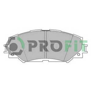 PROFIT 5000-2012 Колодки гальмівні дискові