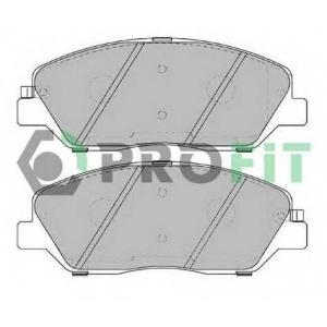 PROFIT 5000-2018 Колодки гальмівні дискові