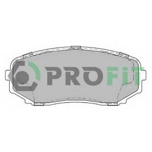 PROFIT 5000-2019 Колодки гальмівні дискові