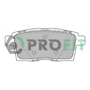 PROFIT 5000-2020 Колодки гальмівні дискові