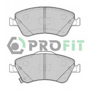 PROFIT 5000-4046 Колодки гальмівні дискові