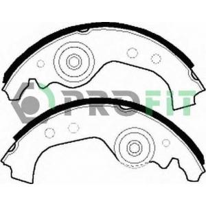 PROFIT 5001-0027 Колодки гальмівні барабанні