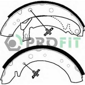 PROFIT 5001-0513 Колодки гальмівні барабанні