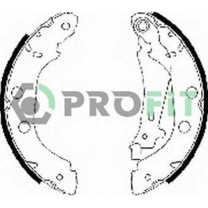 PROFIT 5001-0577 Колодки гальмівні барабанні