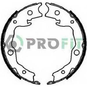 PROFIT 5001-4029 Колодки гальмівні барабанні