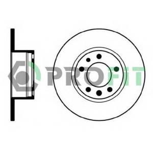 PROFIT 5010-0210 Диск гальмівний