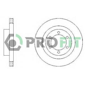 PROFIT 5010-0444 Диск гальмівний