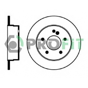 PROFIT 5010-0539 Диск гальмівний