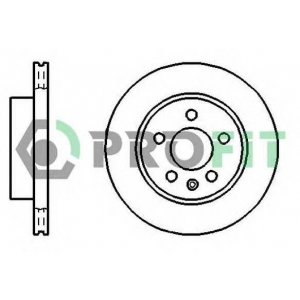 PROFIT 5010-0860 Диск гальмівний