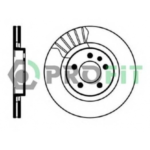 PROFIT 5010-0928 Диск гальмівний