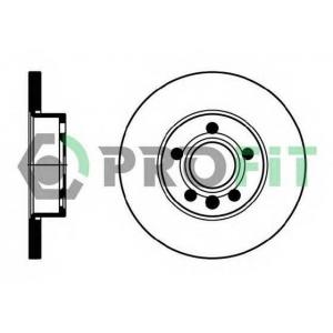 PROFIT 5010-1011 Диск гальмівний