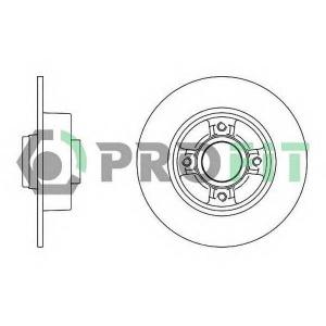 PROFIT 5010-1369 Диск гальмівний