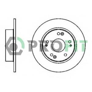 PROFIT 5010-1390 Диск гальмівний