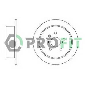 PROFIT 5010-1545 Диск гальмівний