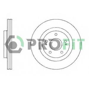 PROFIT 5010-1659 Диск гальмівний