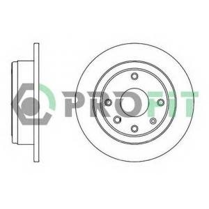 PROFIT 5010-2002 Диск гальмівний