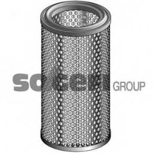 PURFLUX A224 Фильтр воздушный Xantia/Xsara/ZX/306/309/405 XU10J4/XUD9TE h=243mm
