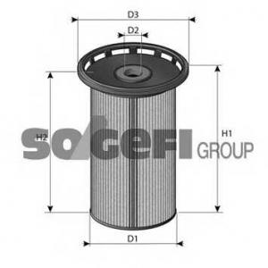 PURFLUX C813 Фільтр палива Audi/VW/Skoda 1.6TDI-2.0TDI 2012-