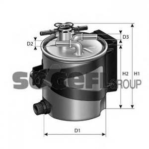 PURFLUX FCS740 Фильтр топливный Purflux