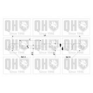 QH 840119 Амортизатор капота