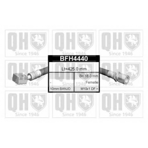 QUINTON HAZELL BFH4440 Тормозные шланги