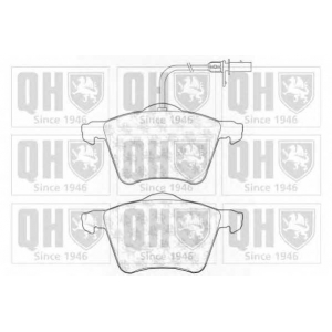 QUINTON HAZELL BP1199 Комплект тормозных колодок, дисковый тормоз