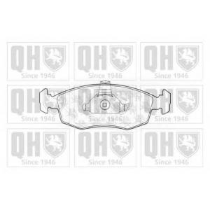 Комплект тормозных колодок, дисковый тормоз bp1223 qh -