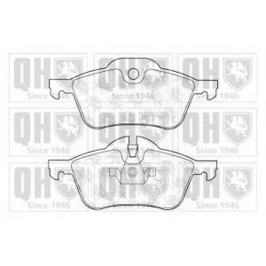 QH BP1291 Комплект тормозных колодок, дисковый тормоз
