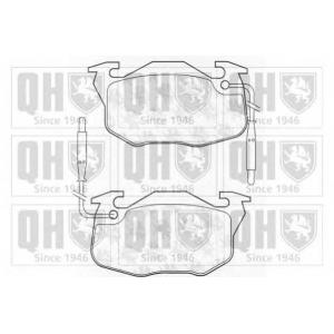 QH BP521 Колодки no brand без датчика,без коробки