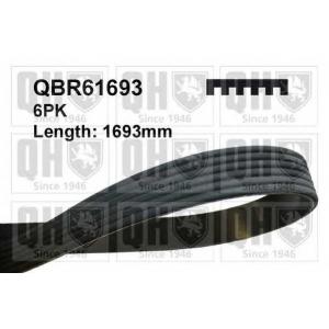 qbr61693 quintonhazell Поликлиновой ремень AUDI 100 седан 2.3 E