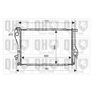 QH QER2117 Радiатор охолодження