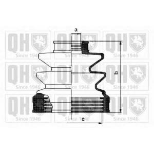 QH QJB1052 Пильник привiдного валу