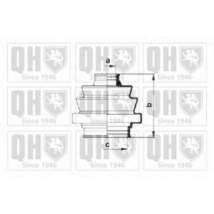 QH QJB121 Пильник привiдного валу