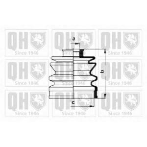 Комплект пылника, приводной вал qjb151 quintonhazell -