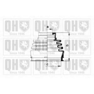 QH QJB220 Пильник привiдного валу