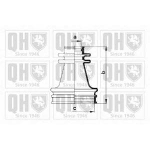 QH QJB256 Пильник привiдного валу