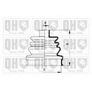 QH QJB369 Пильник привiдного валу