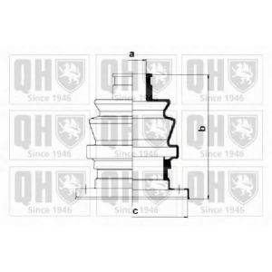 QH QJB777 Пильник привiдного валу к-т