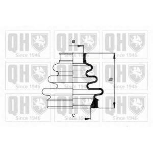 QH QJB837 Комплект пылника, приводной вал