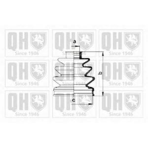 QH QJB847 Пильник привiдного валу