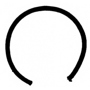 Уплотняющее кольцо, коленчатый вал 711527510 reinz - MERCEDES-BENZ PONTON (W120) седан 180 D (120.110)