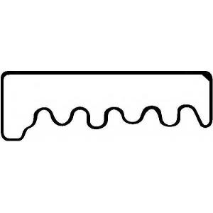 Прокладка, крышка головки цилиндра 712379600 reinz - MERCEDES-BENZ /8 (W115) седан 240 D 3.0 (115.114)