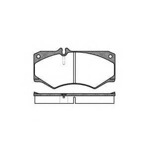 REMSA 0047.30 Колодка торм. VW LT 28-35 передн. (пр-во REMSA)
