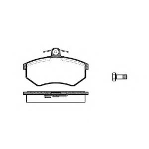 REMSA 0134.00 Колодка торм. AUDI A4, VW передн. (пр-во REMSA)